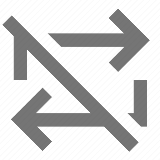 arrow, line, material, off, repeat, rotate, transform icon
