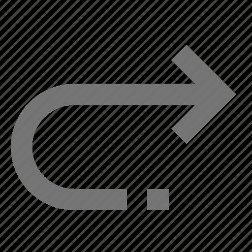 again, arrow, forward, material, redo-variant, right, rotate icon
