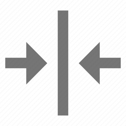 align, arrow, center, format, horizontal, material icon