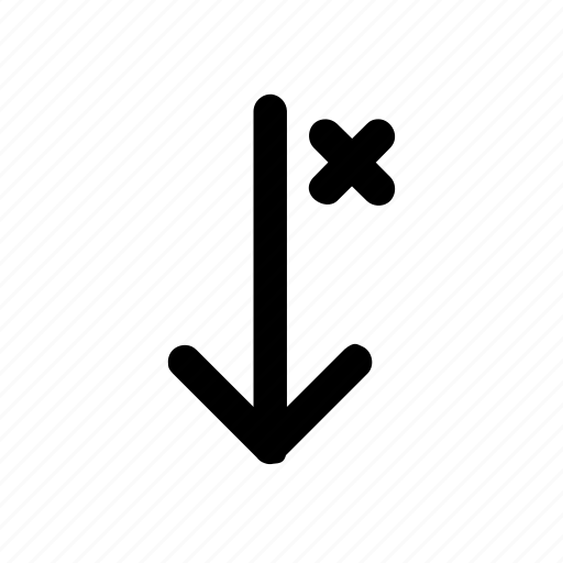 arrows, close, down, failed, up icon