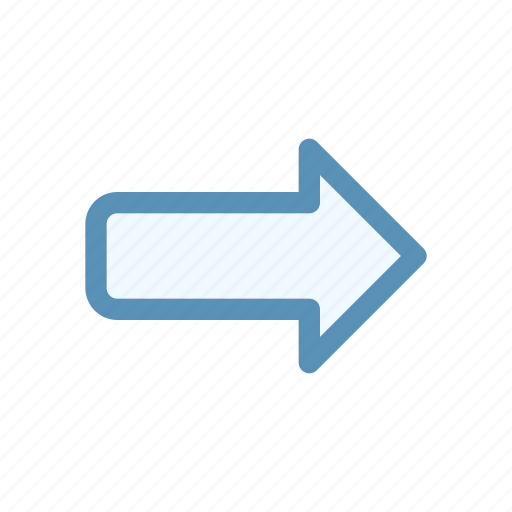 alternate, arrow, direction, interface, navigation, right, user icon
