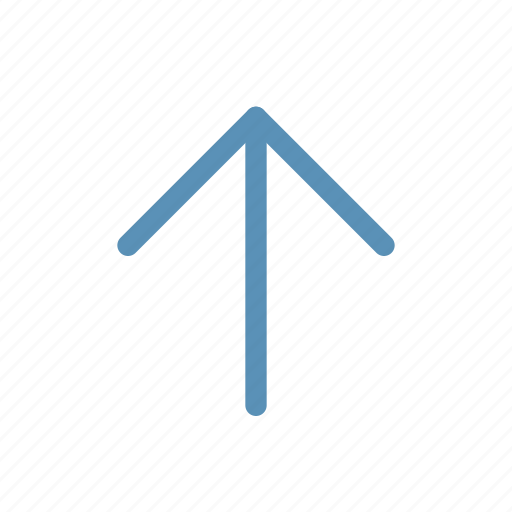 arrow, direction, interface, navigation, up, user icon