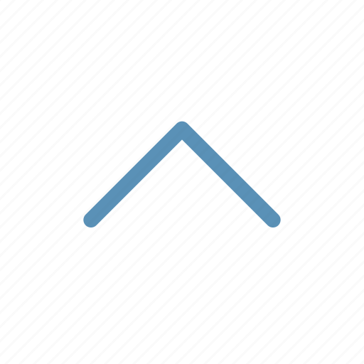 arrow, chevron, direction, interface, navigation, up, user icon