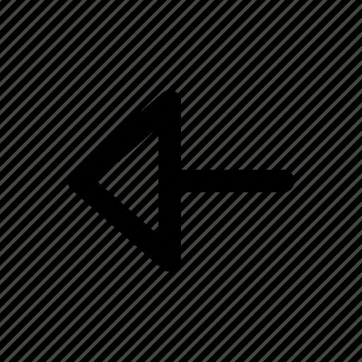 arrows, left, navigation icon