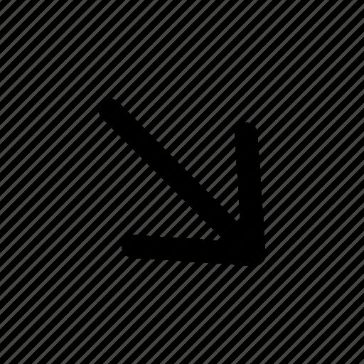 arrows, location, navigation icon