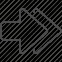 arrow, arrows, direction, navigation icon