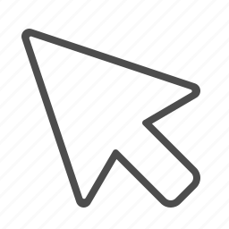arrow, browser, cursor, pointer icon