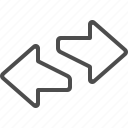 arrows, direction, exchange, left, right icon
