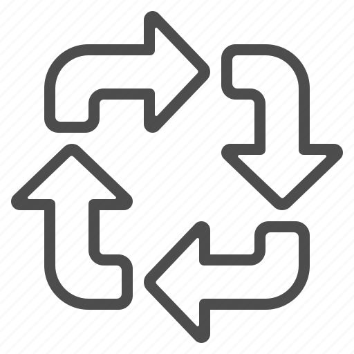 arows, exchange, recycle icon