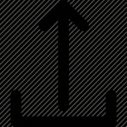 arrow, cloud, creative, grid, shape, up, upload icon