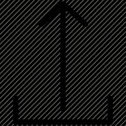 arrow, cloud, creative, grid, line, shape, up, upload icon