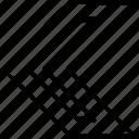 arrow, go, left, pointer, pointing icon