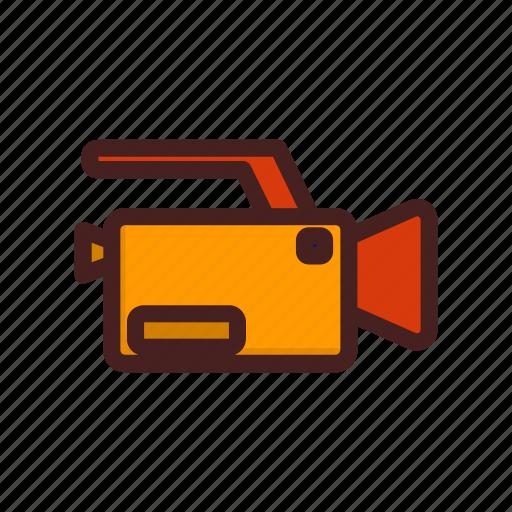 camera, film, footage, movie, multimedia, video icon