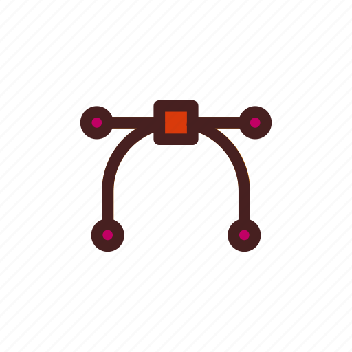 art, bezier, digital, drawing, graphic, tool icon