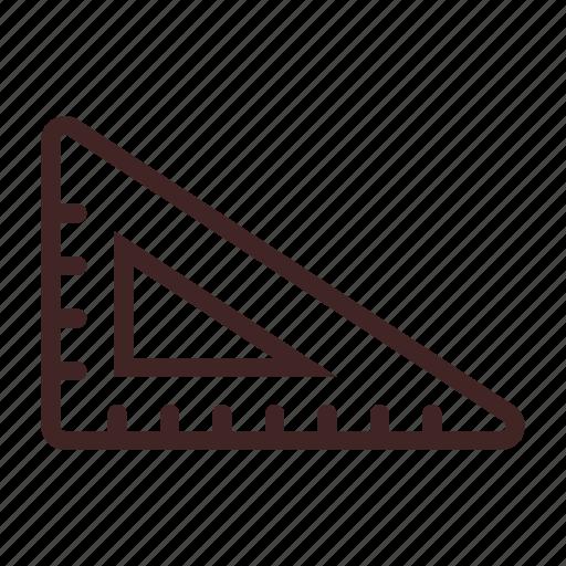 art, creative, design, graphic, ruler, set, square icon