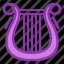 harp, music icon