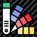 art, color, color bridge, pantone icon