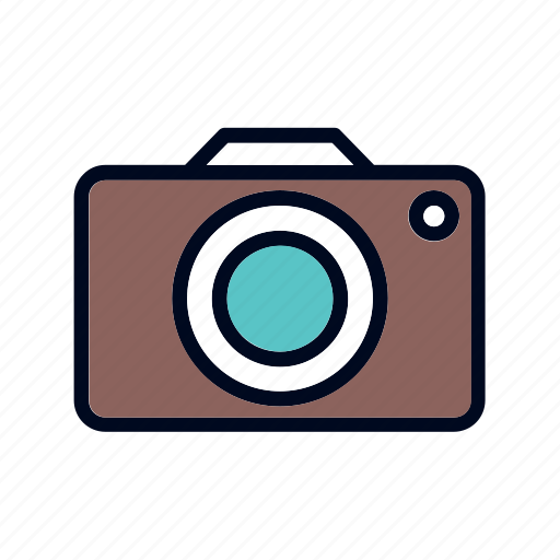art, camera, design icon