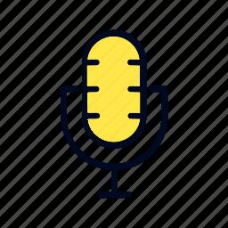 art, design, mic, microphone icon