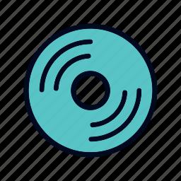 art, cd, cinema, design, disk, movie icon