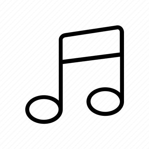 art, design, music, note, song icon