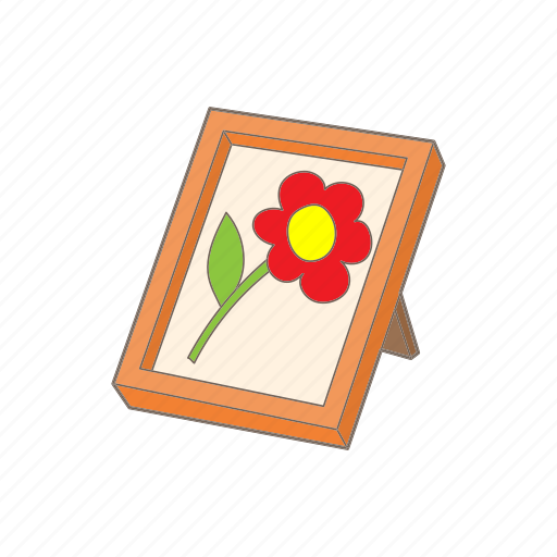 artistic, cartoon, frame, gallery, picture, style, texture icon