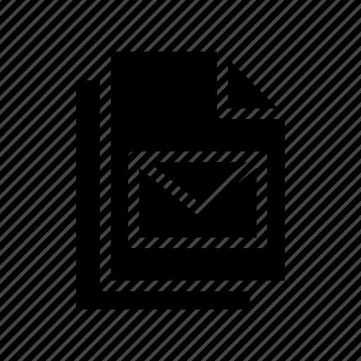 archive, document, files, paper, records icon
