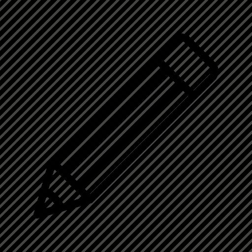 edit, pen, pencil, stationary, write icon