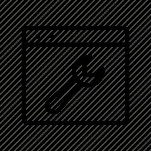 fix, internet, repair, setting, webpage icon