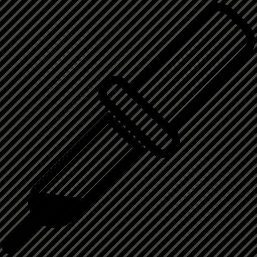 dropper, picker, pipette, tool icon