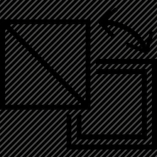 reshape, shape, size, style, webpage icon