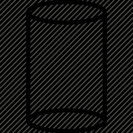 cylinder, shape, shapes icon
