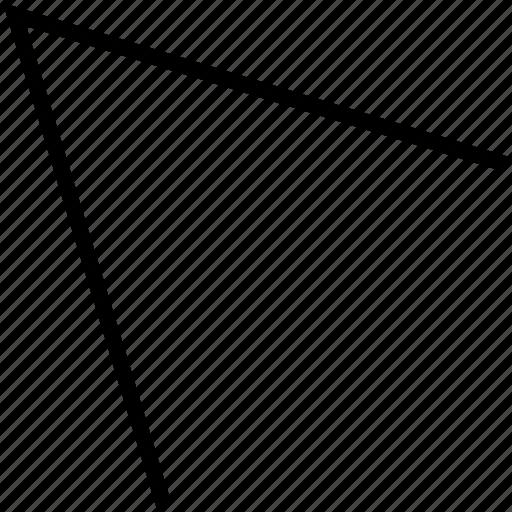 arrow, nav, pointer, pointing icon