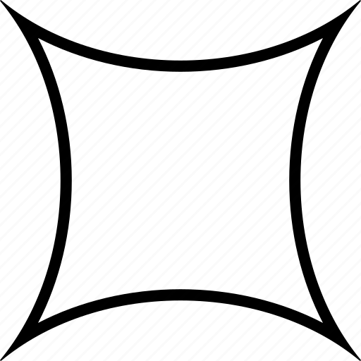 cushion, focus, shape, target icon