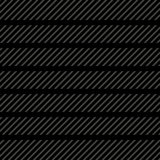 align, line up, range, right icon