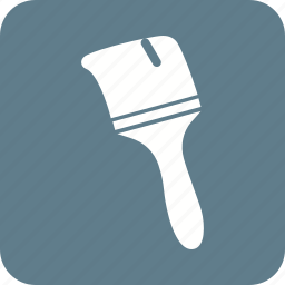 brush, bucket, home, paint, painter, renovation, thick icon