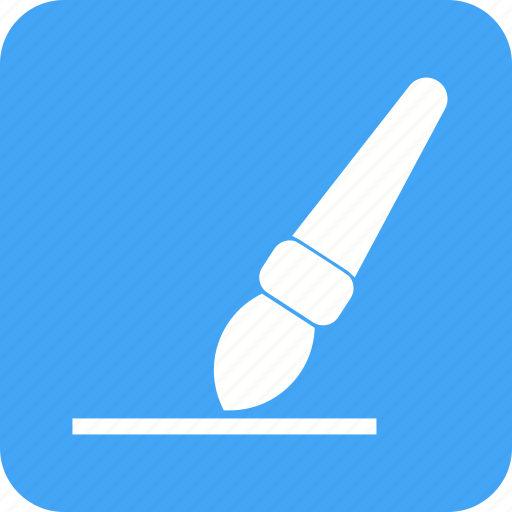 art, brush, design, drawing, line, paint, stroke icon
