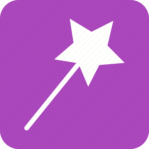 imagination, magic, magical, magician, trick, wand, wizard icon