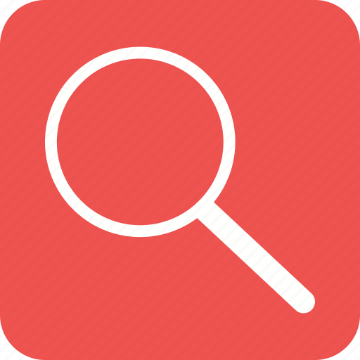 glass, lens, magnifier, magnify, magnifying, search icon