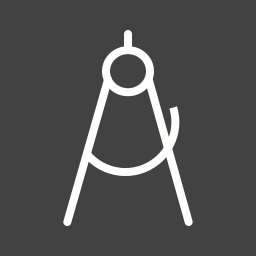 drawing, equipment, protractor, ruler, set, tool, tools icon