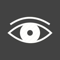 blue, circle, eye, eyeball, eyes, see, vision icon