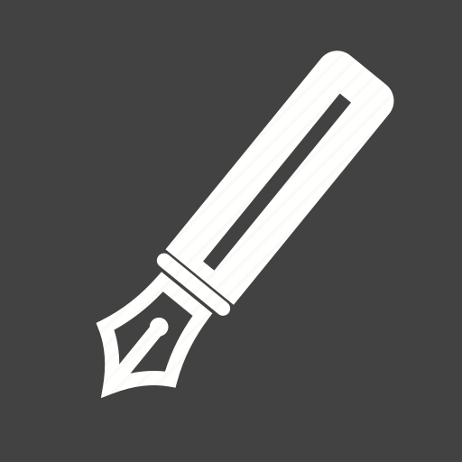 fountain, office, paper, pen, signature, tool, writing icon