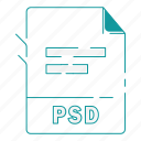 extension, file, file type, format, psd, type, word