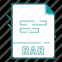 extension, file, file type, format, rar, type, word