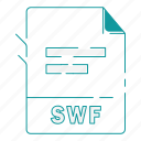 extension, file, file type, format, swf, type, word