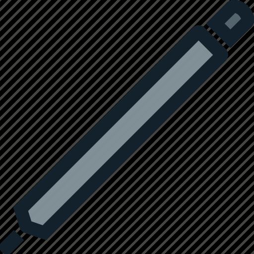 draw, pen, rubber, tool, write icon