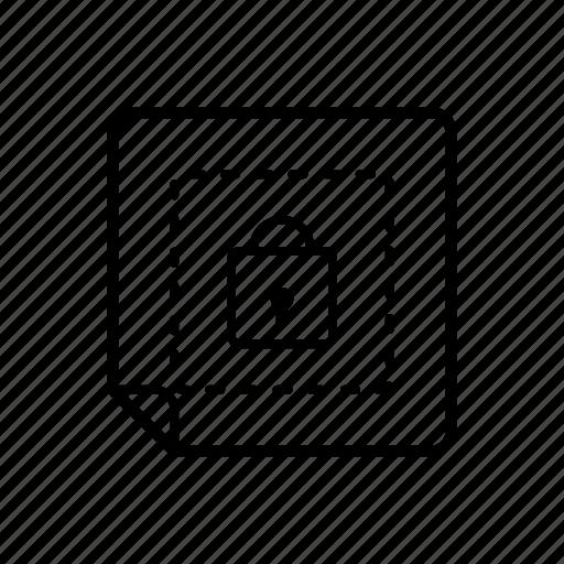 encrypt, lock, password, protect, safety icon