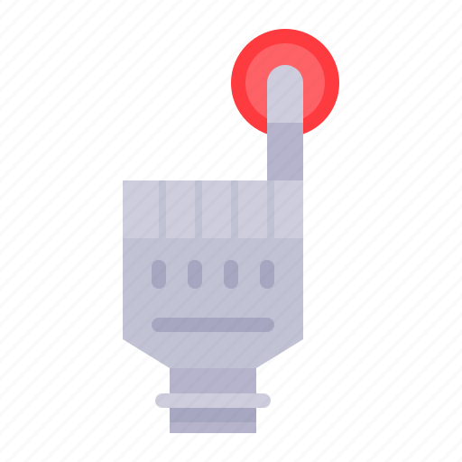 artificial, artificial hand, hand, prosthesis, robotics icon