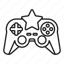 boy, character, game, joystick, shadow, star, video
