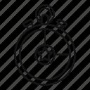 concept, game, isometric, minimalistic, round, stopwatch, video